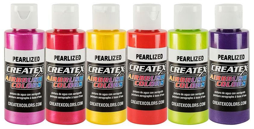 Createx pearl set 2