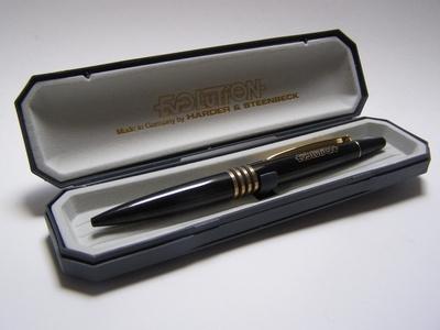 Harder & Steenbeck bal-pen zwart