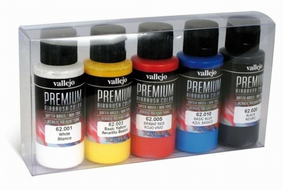 Vallejo premium rc basis set
