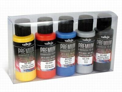 Vallejo premium rc metallic set