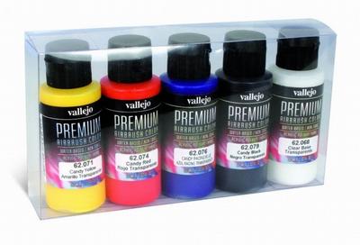 Vallejo premium rc candy set