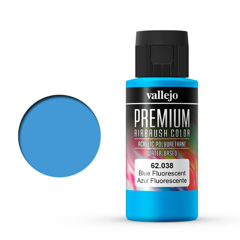 Vallejo Premium fluo blue
