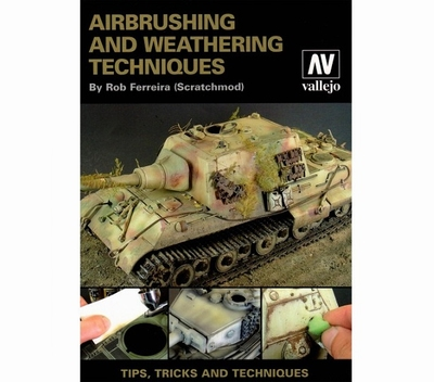 Airbrush weathering