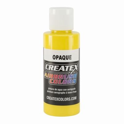 Createx Opaque geel 60 ml.