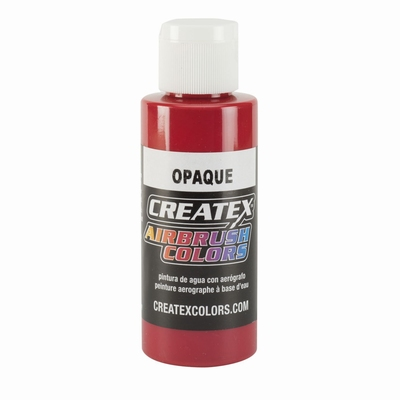 Createx Opaque rood 60 ml.