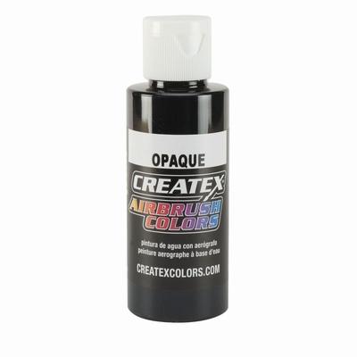 Createx Opaque zwart 120 ml.