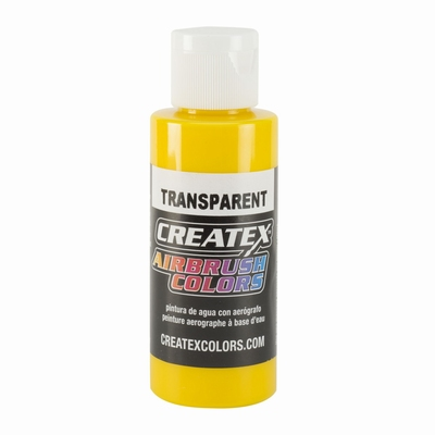 Createx transparant geel 60 ml.