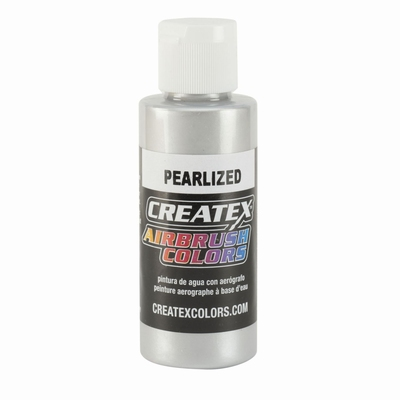 Createx pearl zilver 60 ml.