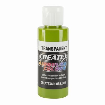 Createx transparant leaf green 60 ml.
