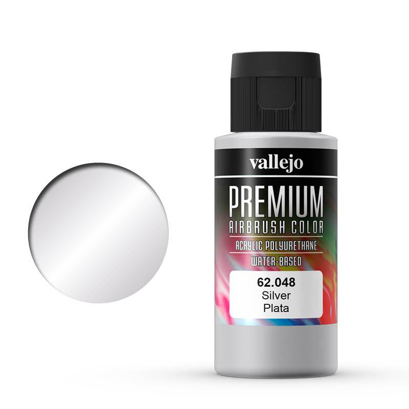 Vallejo Premium metallic silver