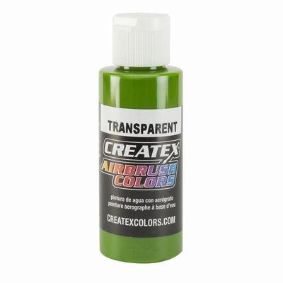Createx transparant tropical green 60 ml.