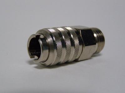 Snelkoppeling compressorzijde