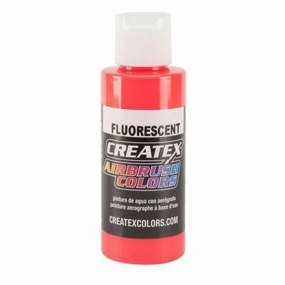 Createx fluorecerend red 60 ml.