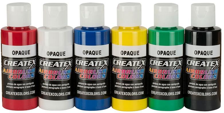 Createx opaque set v. 6