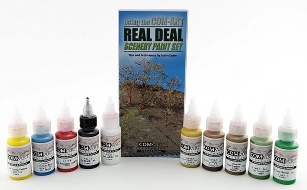 Com art Real deal scenery paint set