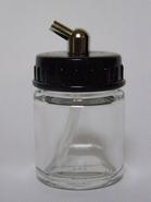 Glazen onderbeker met adapter 2