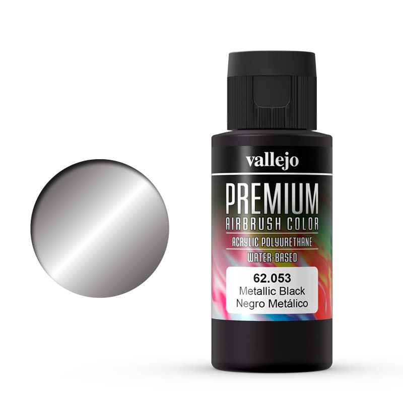 Vallejo Premium metallic black
