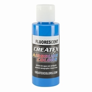 Createx fluorecerend blauw 60 ml.