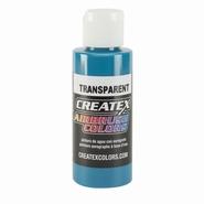 Createx transparant turquoise 60 ml.