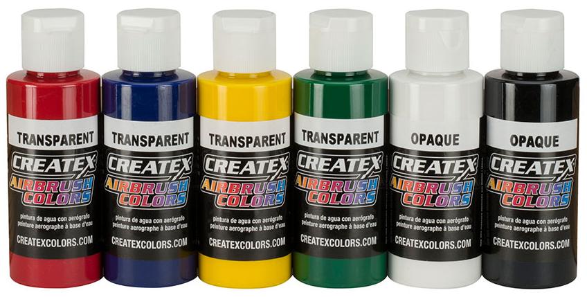 Createx transparant set v. 6