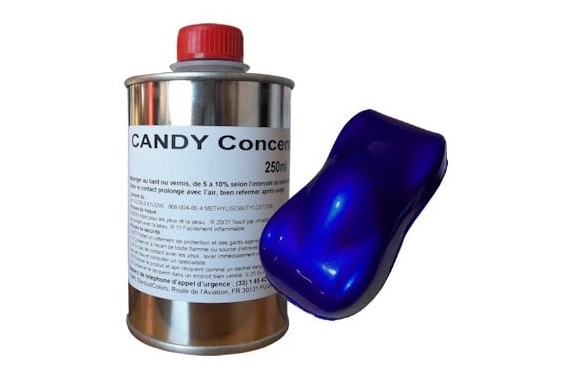 Candy paints concentrate