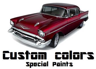 Custom colors paint